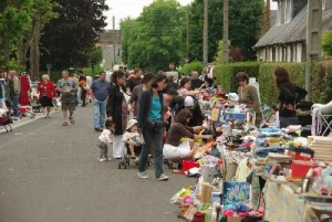 Vide grenier Place Saint Paul - Caen