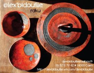 Alex Bidouille : Céramique Raku